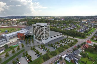 Området kring Åby Arena