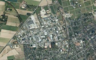 Luftbild GE u. Schule