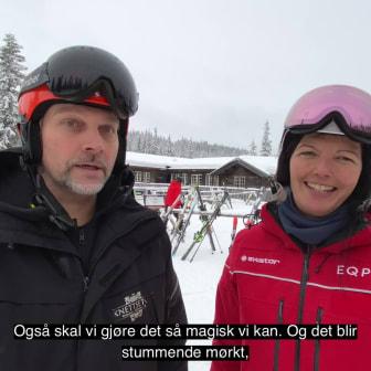 Urpremiere på Fjols til fjells på Knettsetra