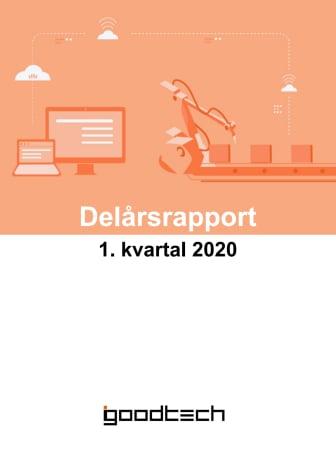 Kvartalsrapport 1. kvartal 2020