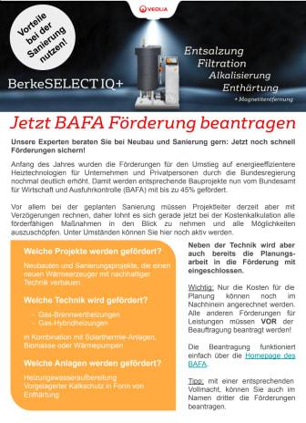 BAFA Förderungen Übersicht: Was wird gefördert?