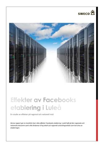 Rapport - Effekter av Facebooks etablering i Luleå