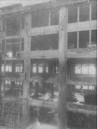 TORKRET, Sanierung Sarotti-Schokoladenfabrik, Berlin 1922