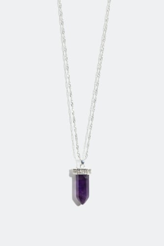 Necklace with semi precious stone - 16.99 €