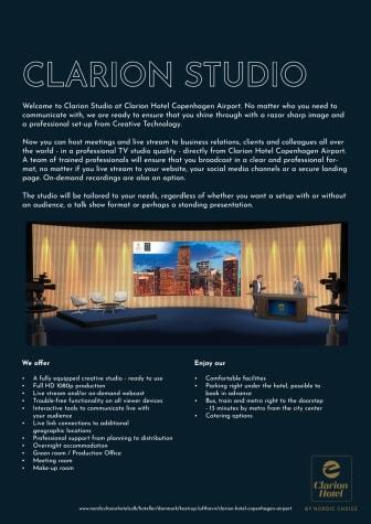Clarion Studio præsentation