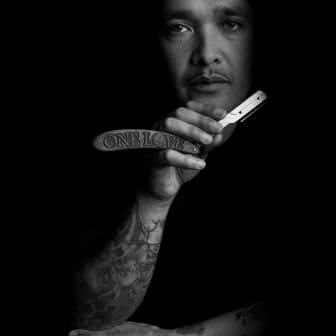 Lawrence Fo (UK) domare i Swedish Barber Expo Barber Battle 2017