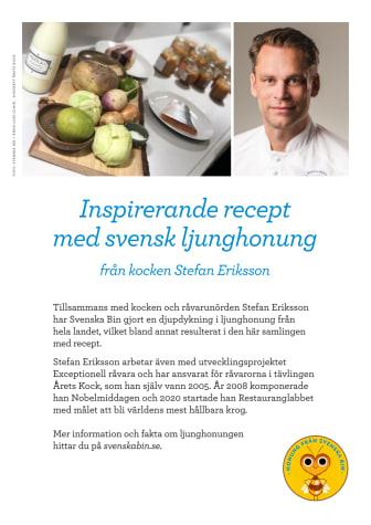 Recept med ljunghonung från Stefan Eriksson