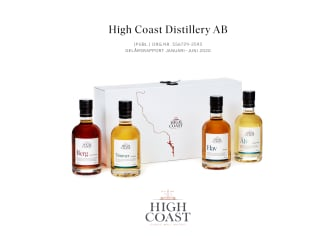 High Coast Distillery AB halvårsrapport
