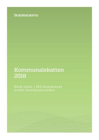 Kommunalskatten 2018