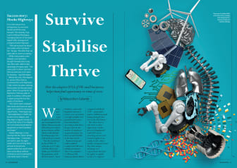 Survive Stabilise Thrive - Isansys features in the Investor Magazine