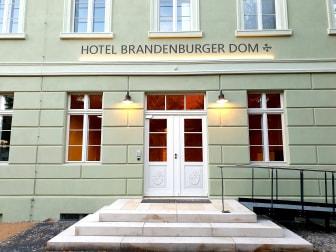 Front of Hotel Brandenburger Dom