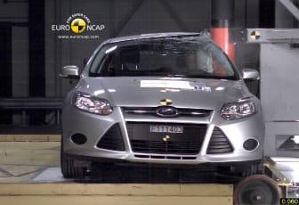 Nya Ford Focus i Euro NCAP's stolptest