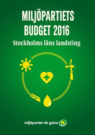 En budget för hållbarhet och hälsa