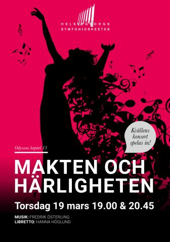 Konsertprogram Makten & härligheten