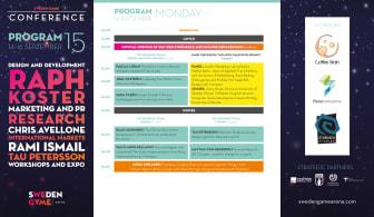 Internationell och lokal stjärnkavalkad på Sweden Game Conference