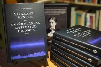Omslag: En värmländsk litteraturhistoria del 1 -  liggande