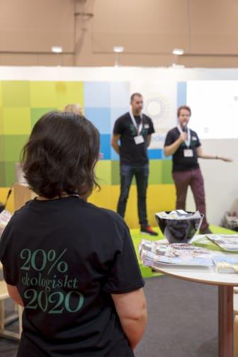 20% ekologiskt 2020 lansering NOFF2015