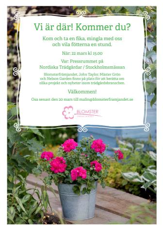 Pressinbjudan Nordiska