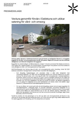 Vectura genomför förvärv i Eskilstuna och utökar satsning för vård- och omsorg.pdf