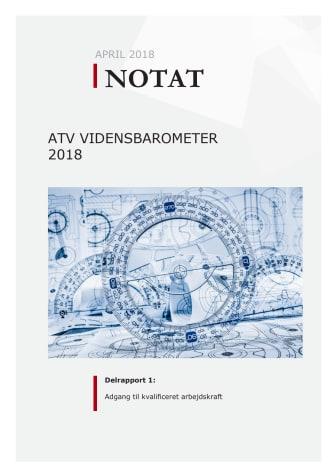 ATV Vidensbarometer 2018: Adgang til kvalificeret arbejdskraft