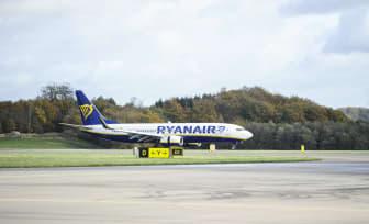 Ryanair åter på Malmö Airport