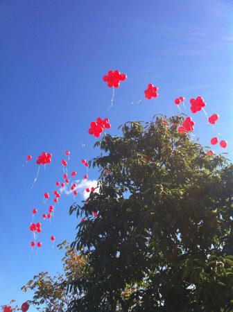 Lika många ballonger som lägenheter