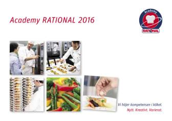 Utbildningar 2016 RATIONAL
