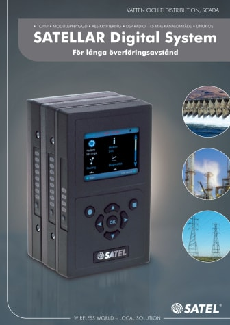 SATELLAR radiomodem från SATEL Oy
