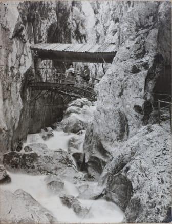 ZÜBLIN, Höllentalklamm, historische Brücke