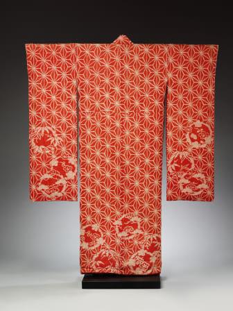 Kimono_red_Victoria and Albert