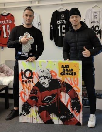 Patrik Lindberg och Jesper Bratt