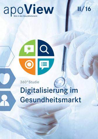 apoView II/2016: 360-Grad-Studie zur Digitalisierung im Gesundheitsmarkt
