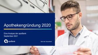 """apoBank-Analyse """"Apothekengründung 2020"""""""