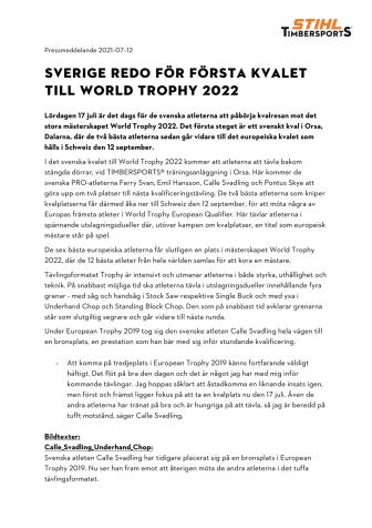 SVERIGE REDO FÖR FÖRSTA KVALET TILL WORLD TROPHY 2022 .pdf