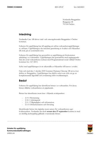 Uppföljning på förekommen anledning Norlandia Berggården.pdf