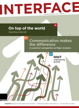 Interface - employee magazine - April 2013
