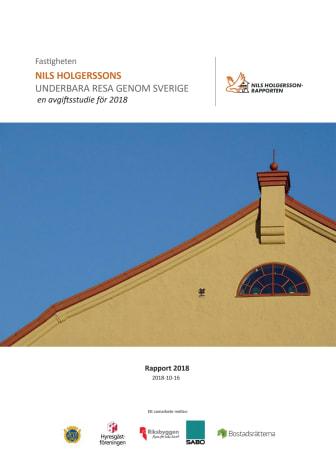 Nils Holgersson - rapporten 2018