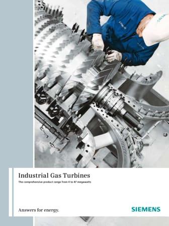 Broschyr Siemens gasturbiner