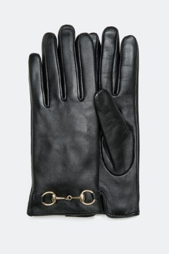 Leather Gloves - 44.99 €