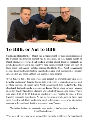 To BBB, or Not to BBB