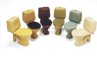 Wc-istuimet 1970-luvulta