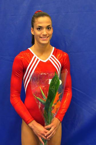 Alexandra Olsson, VM-gymnast i London 13 - 18 okt 2009