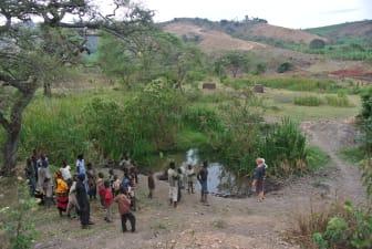 Dalen i området Karagwe i Tanzania.