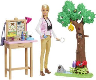Barbie® National Geographic Butterfly Scientist Playset