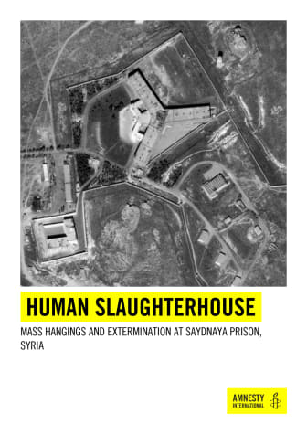Syrien: Massavrättningar i fängelset Saydnaya