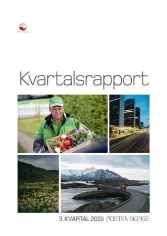 Kvartalsrapport Posten Norge, Q3-2019