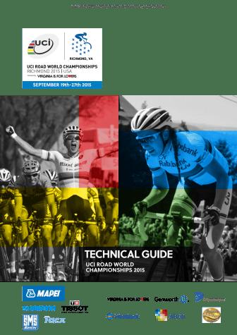 UCI Technical guide Richmond 2015