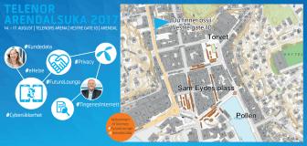 Presseinvitasjon til Telenors arena i Arendal