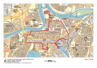 Förslag på rutt för rundturståg
