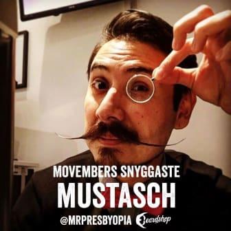 Movembers snyggaste mustasch